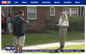 Samuel and Solomon Johnson were featured in an Interview on Fox29